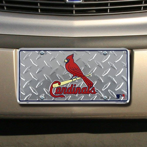 St. Louis Cardinals : St Louis Cardinals Diamond Metal License ()