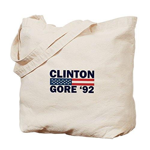 CafePress–Clinton–Gore 92–Gamuza de bolsa de lona bolsa, bolsa de la compra