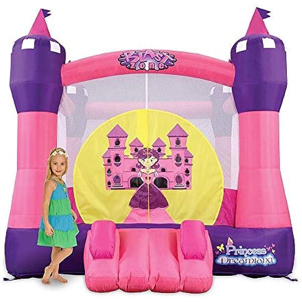 Amazon.com: HQ Bounce Casa 100% PVC. Princesa Castillo de ...