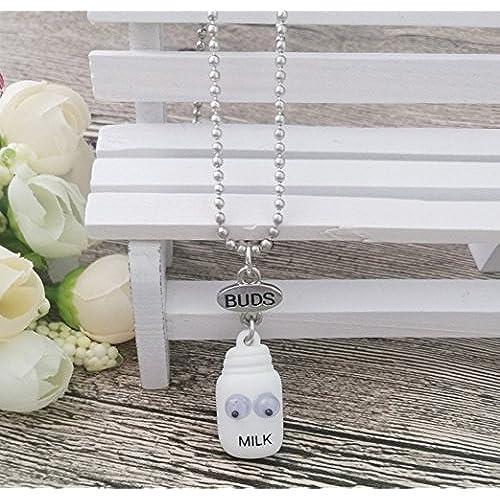 f005c978081b En venta Elegant Rose dos piezas Best Friends Forever BFF plata corazón  clave Colgante Collar Conjunto