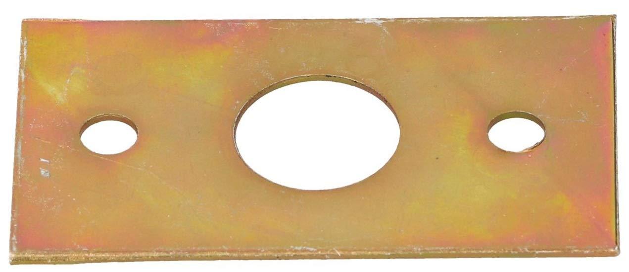 inoxidable Pestillo para puerta de 260 mm con muelle resistente a la intemperie KOTARBAU color negro mango de madera