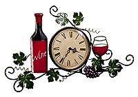 Wine Wall Clock by Miles Kimball