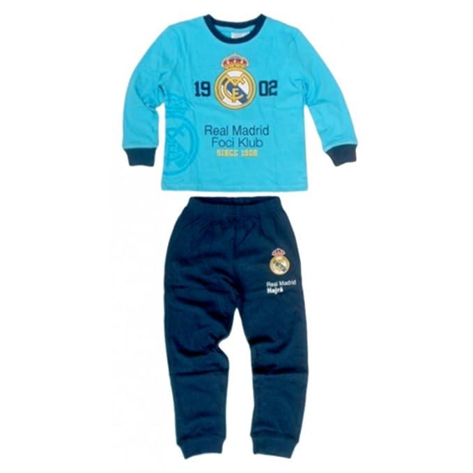 Real Madrid - Pijama dos piezas - para niño azul 2 años
