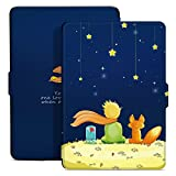 Ayotu Colorful Case for Kindle Paperwhite Thinnest and Lightest PU Leather Smart