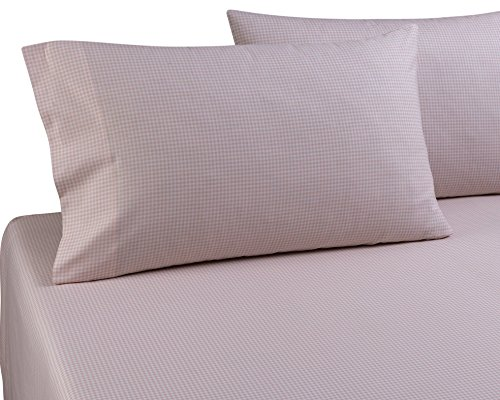 (DELANNA Pillowcases, 100% Cotton Percale Weave Standard Size 20