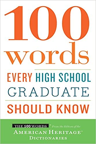 Download PDF 100 Words Every High School Graduate Should Know