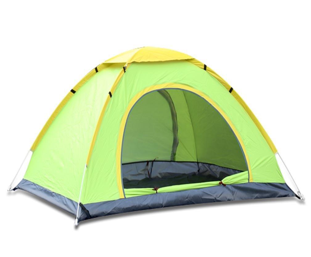 Outdoor Zelt Doppel 3-4 Personen Vollautomatisches Feld Camping Hand Werfen Freizeit Zelte