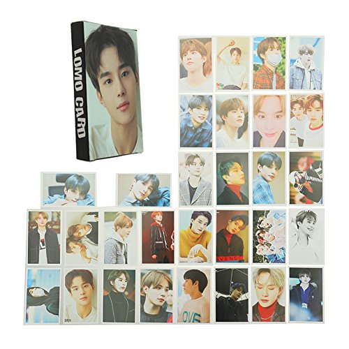 Nuofeng - Kpop NCT EMPATHY Lomo Cards NCT127 NCT Dream Photocard Sticker Cards Set for NCT Fans(B-30pcs-10)