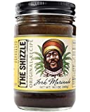 The Shizzle Original Jerk Seasoning Marinade (Single) – 14 Ounce Jar – Authentic Island Flavor w/Pineapple Base – Traditional Rub – Sauce for Chicken, Pork, Fish, Vegetables