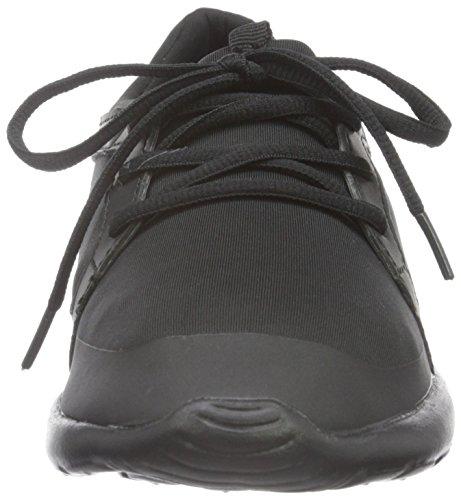 Bianco Casual Step in Shoe Jja16, Women's Low-Top Sneakers Black (10/Black)