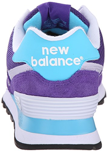 Purple Wl574v1 Baskets Basses New Balance ML Femme Violet 0qwxFEx4