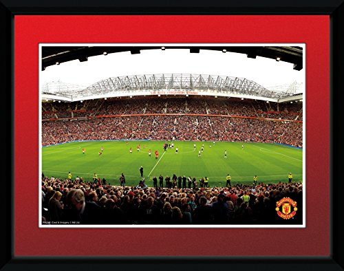 Manchester United Old Trafford  8''x6'' Framed Photographic Print