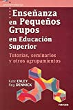 img - for Ensenanza en pequenos grupos en educacion superior/ Teaching In Small Groups in Superior Education: Tutorias, Seminarios Y Otros Agrupamientos (Spanish Edition) book / textbook / text book