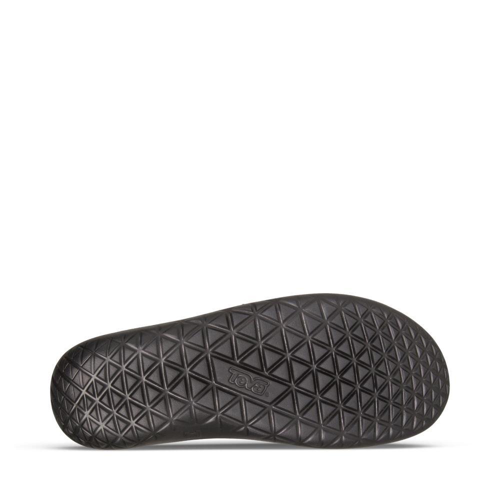 Teva Men's Terra-Float Lux Leder schwarz Flip Flop schwarz Leder e5e522