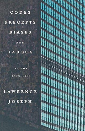 Codes, Precepts, Biases, and Taboos