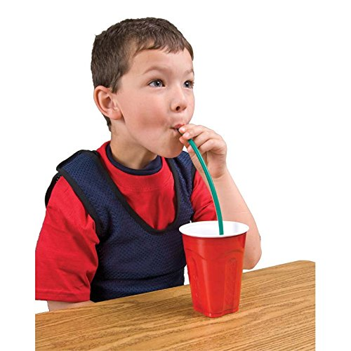 Gnaw Straws Chewable Sipping Straws for Sensory Seekers, Kids with Autism, ADHD and Sensory Processing Disorder – Age (Chew Straws)
