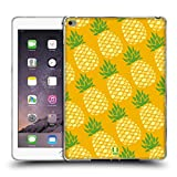 Head Case Designs Pina Pineapple Patterns Soft Gel Back Case Cover for Apple iPad Air 2
