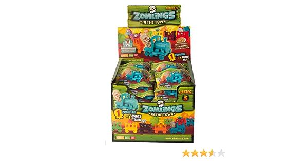 Caja 24 sobres Zomlings Serie 3 (Zomling + Ghost train): Amazon.es: Juguetes y juegos