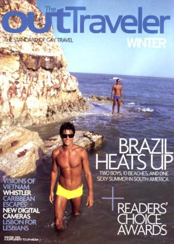 OUT Traveler ~ Brazilian Beaches ~ Vietnam ~ (Winter 2006, Issue 16) by LPI Media