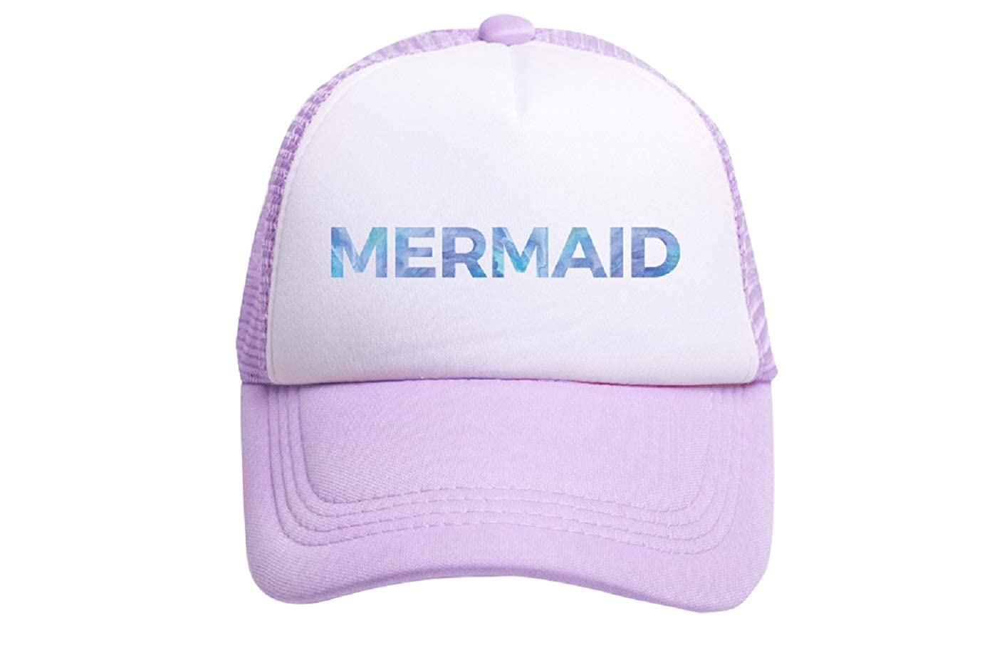 2d2907188a3 Amazon.com  TINY TRUCKER Co. Toddler Mermaid Trucker Hat  Clothing