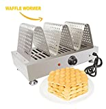 waffle iron cast iron belgian - Puffle Waffle Maker Professional WARMER for EGG Waffle, Puff, Hong Kong Style, Egg, QQ, Muffin, Cake Eggettes and Belgian Bubble Waffles) (110V, Puffle Wormer)