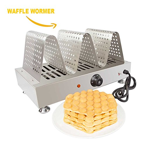 Waffle Maker Pan Roll Machine Non-Stick Pan (Black) - 5