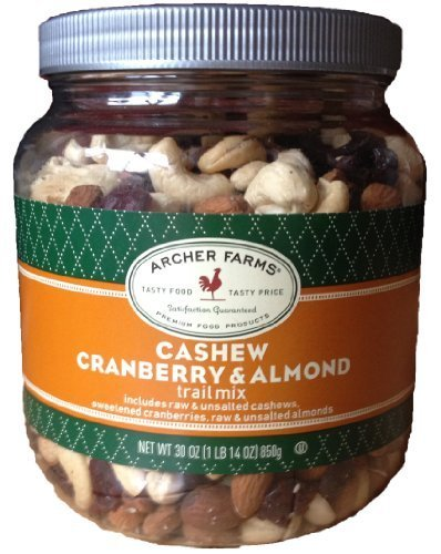 Archer Farms Cashew Cranberry & Almond Trail Mix 30 -