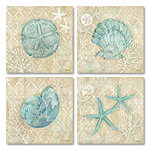 51ZR0YMGeLL._SS300_ Best Sand Dollar Wall Art and Sand Dollar Wall Decor For 2020
