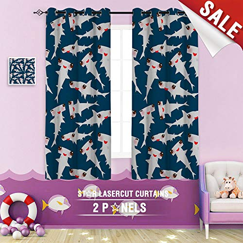 Big datastore home Black Out Window Curtain, Australia Awesome Badge Bahamas Cartoon Character Charming Clipart Comics Cute face 63 x 63 inch Grommet Design Children's Room Curtains (Furniture Bedroom White Wicker Australia)