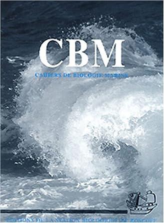Resultado de imagen de Cahiers de Biologie Marine