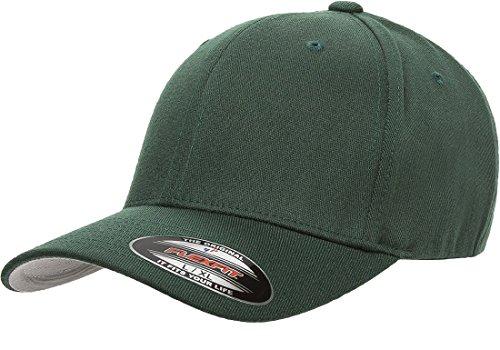 (Flexfit 6477 Wool Blend Cap - Large/X-Large (Spruce))