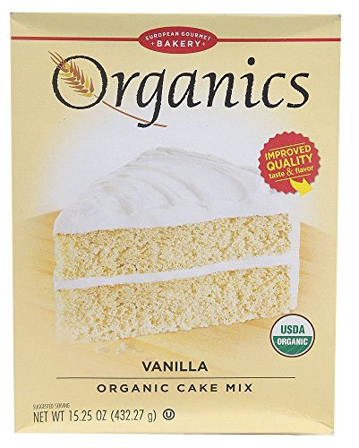 (European Gourmet Bakery Organic Vanilla Cake Mix, 16.2 oz. (Pack of 12))