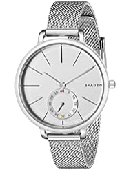 Skagen Womens SKW2358 Hagen Stainless Steel Mesh Watch