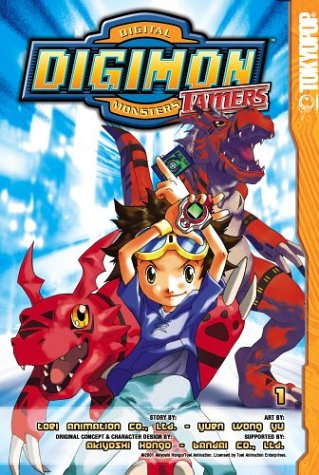Download Digimon Tamers: Digital Monsters (Digimon (Graphic Novels)), Vol. 1 (Digimon Series Three) pdf epub