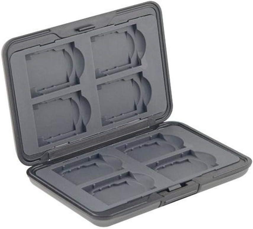 Estuche de aluminio con almacenamiento digital Slinger para ocho tarjetas SD / MMC Secure Digital: POWER2000 (Vidpro): Amazon.es: Electrónica