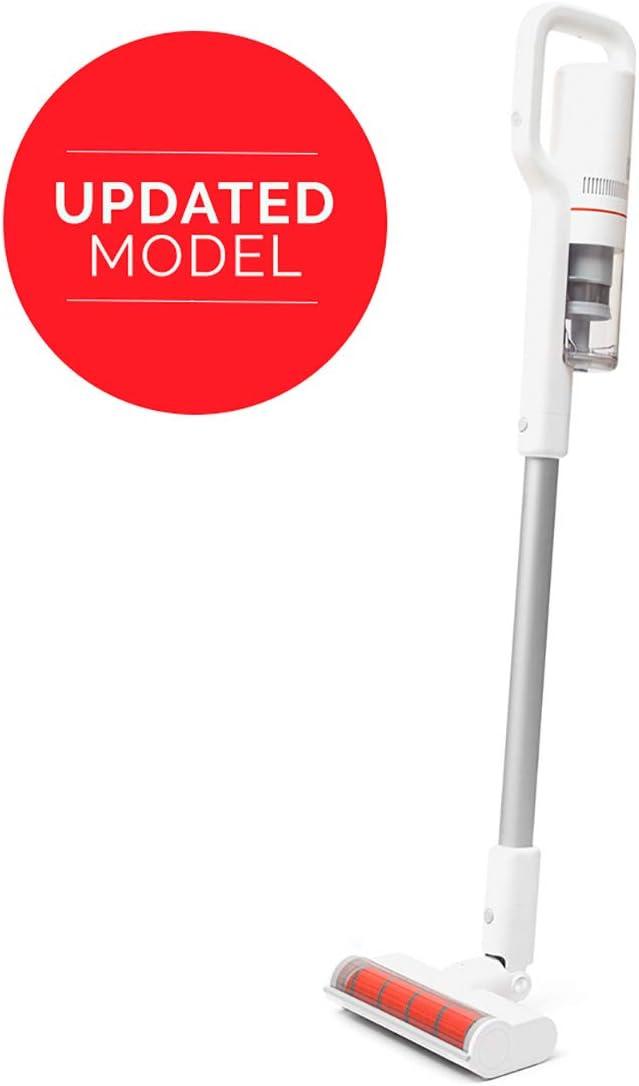 Roidmi F8 Storm - Aspiradora sin cable, versión EU en Español, 415 W, 100.000 RPM, batería hasta 55 minútos, depósito 0,4L, color blanco