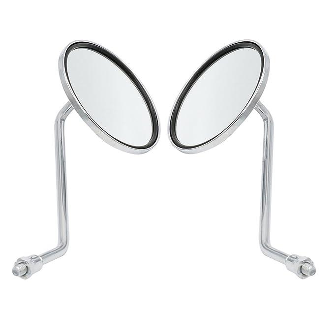 2 opinioni per Frenshion Tondo 8mm ATV Dirt Bike Rearview Mirrors Specchietti Moto Retrovisori