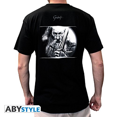 Gandalf camiseta negro hombre y The Hobbit espada negro wqRnS