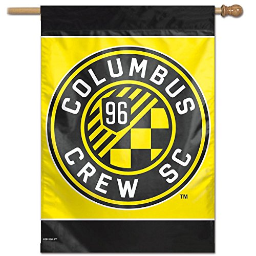 WinCraft Columbus Crew House Flag and Banner by WinCraft