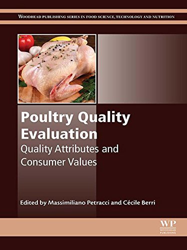 Poultry Quality Evaluation: Quality Attributes and Consumer Values (Woodhead Publishing Series in Food Science, Technology and Nutrition) (Genetics Of Chicken Colours)