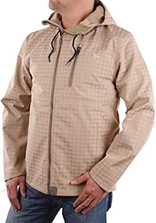 Spyder Herren Shiller Softshell Jacket Gr. M #073 (M, Beige