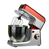 Wotefusi Stand Mixer 6.8 Quart Stainless Steel Bowl 500W Food Mixing Machine Kitchen Electric Mixer 6 Speed Setting for Home 110v Commercial Use 110V