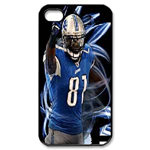 Yearinspace Calvin Johnson IPhone 4/4s Cases Calvin Johnson Cover Design For Men, Phone Case For Iphone 4s, {Black} by ruishername