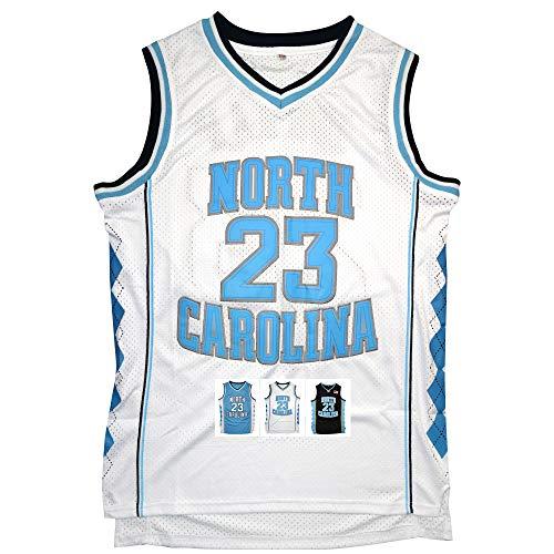 f058036fd26 Antsport  23 North Carolina Mens Basketball Jersey Retro Jersey S-XXXL  (White