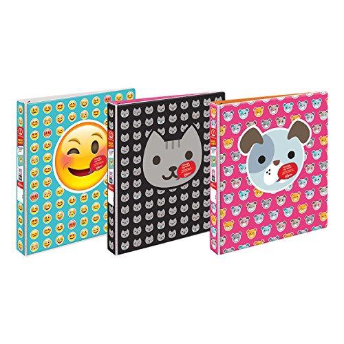 avery peek a view durable customizable emoji binder  1