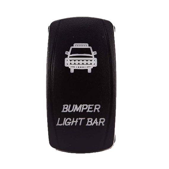 Amazon com: Xuanhemen Dual LED Bumper Light Bar Switch Waterproof