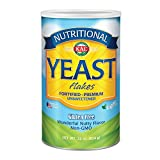 #7: KAL Nutritional Yeast Flakes | Vitamin B12, Vegan, Non-GMO, Gluten Free | Unsweetened, Great Flavor, No Bitter Aftertaste | Great For Cooking | 22 oz