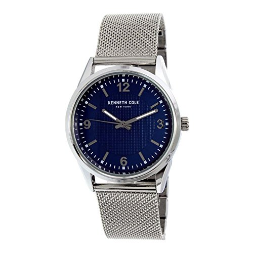 Kenneth Cole Men's 10030779 Silver Stainless-Steel Quartz Watch