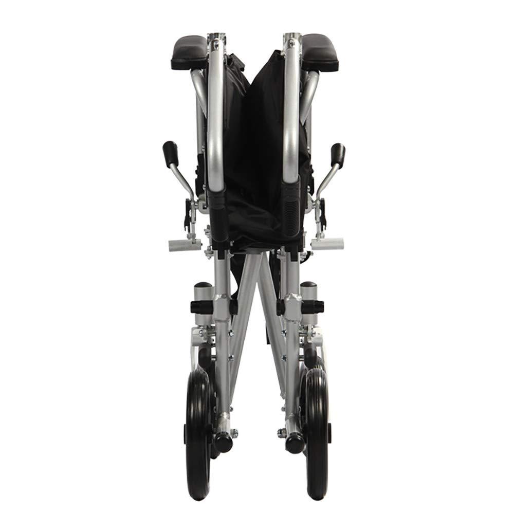 Amazon.com: QETU - Silla de ruedas plegable para ancianos ...