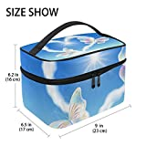 U LIFE Valentines Day Birthday Heart Love You Summer Spring Wedding Travel Cosmetic Makeup Toiletry Storage Bags Boxes Cases Organizers